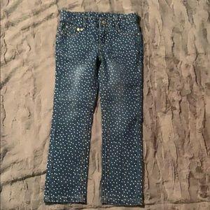 Sonoma polka dot jeans